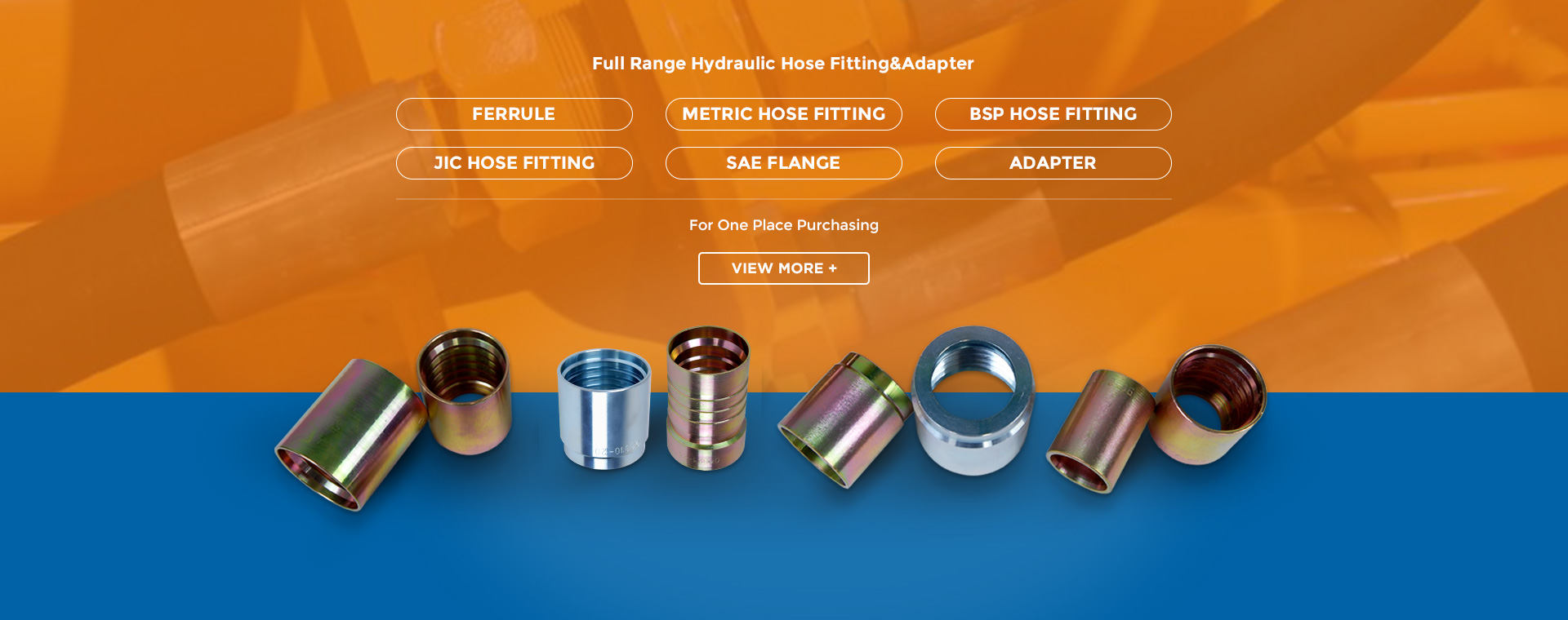 INTERLOCK HOSE FITTING