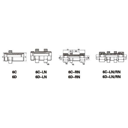 6C/6D/6C-LN/6D-LN/6C-RN/6D-RN/6C-LN/RN/6D-LN/RN