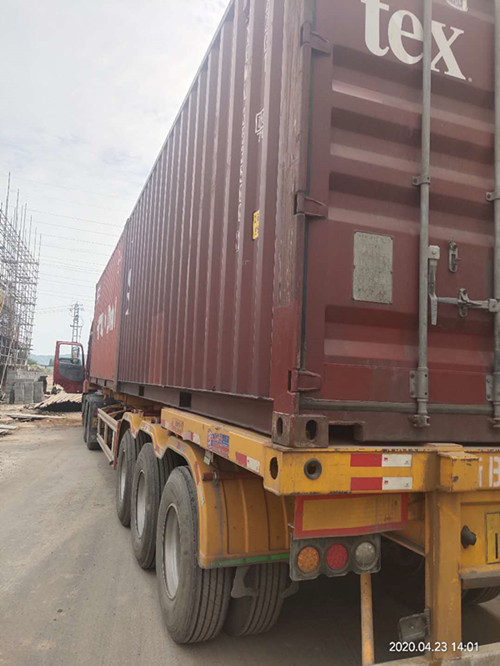 container loading hydraulic fititng adapter